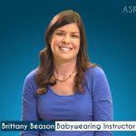 Brittany Beason, Babywearing Educator
