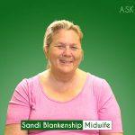 Sandi Blankenship, Midwife